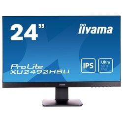 Iiyama ProLite XU2492HSU-1 (черный) - МониторМониторы<br>TFT IPS, 23.8quot;, 1920x1080, HDMI, DisplayPort, VGA.