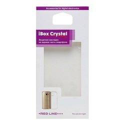 Силиконовый чехол-накладка для Huawei P9 Lite (iBox Crystal YT000009337) (прозрачный) - Чехол для телефона