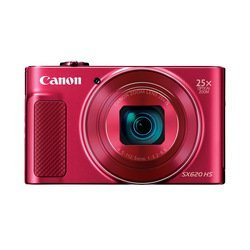 Canon PowerShot SX620 HS (красный) - Фотоаппарат цифровойЦифровые фотоаппараты<br>21.10 МП, 1/2.3quot;, Zoom: 25х, Wi-Fi, до 2.50 к/с, видео до 1920x1080.