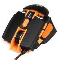 Dialog Gun-Kata MGK-41U USB - АксессуарКлавиатуры, мыши, комплекты<br>Игровая оптическая мышка, 8 кнопок + ролик, USB.