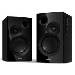 SVEN SPS-635 (черный) - Колонка для компьютераКомпьютерная акустика<br>Фазоинвертор, вынесенный на переднюю панель обеспечивает «достающие до души» глубокие басы, а шелковые купольные ВЧ динамики придают реалистичности и яркости высоким частотам. Эта акустическая система 2.0 одинаково хорошо подходит как для воспроизведения музыки любых жанров, так и для озвучки фильмов.