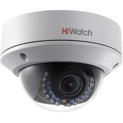 Hikvision Hi-Watch DS-I128 - Камера видеонаблюденияКамеры видеонаблюдения<br>Уличная купольная IP камера, 1/3quot; Progressive Scan CMOS, 25 кадр/с при разрешении 1280x960, ночная съёмка (механический ИК-фильтр), детектор движения, поддержка PoE (802.3af), объектив - 2.8-12мм F1.4, угол обзора 30.2°.