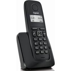 Gigaset A116 (черный) - РадиотелефонРадиотелефоны<br>Однолинейный, автоответчик, АОН/Caller ID, в комплекте 1 радиотрубка.