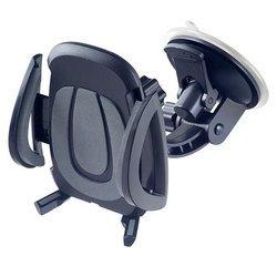 """Автодержатель для смартфона до 6.5"""" (Perfeo PH-520) (черный) - Автомобильный держатель для телефона"""
