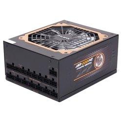 Zalman ZM1200-EBT 1200W - Блок питанияБлоки питания<br>Zalman ZM1200-EBT 1200W - 1200 Вт, активный PFC, 1 вентилятор , отстегивающиеся кабели