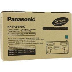 Картридж для Panasonic KX-MB1500, MB1507, MB1520, MB1530, MB1536, MB1537 (KX-FAT410A7) (черный) - Картридж для принтера, МФУ