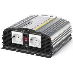 Pitatel KV-M1000DRU.12 - Автомобильный инверторАвтомобильный инвертор (автоинвертор)<br>Инвертор Pitatel KV-M1000DRU.12 (12В/220В, модифицированный синус, 1000 Вт) предназначен для обеспечения качественного электропитания, он отличается простотой эксплуатации и надежностью. Превосходные характеристики инвертора сочетаются с простотой использования.