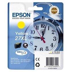 Картридж для Epson WorkForce WF-7110DTW, WF-7610DWF, WF-7620DTWF (C13T27144020 №27XL) (желтый) - Картридж для принтера, МФУ  - купить со скидкой