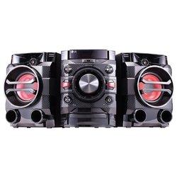 LG DM5360K - Музыкальный центрМузыкальные центры<br>LG DM5360K - DVD, радио, USB, караоке, фронт 2x100Вт