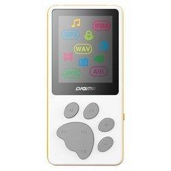 Digma S3 4Gb (белый-оранжевый) - Mp3 плеерЦифровые плееры<br>Портативный плеер, 4Гб, диагональ 1.8quot;, поддержка карт microSD.