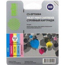 Картридж для Epson Stylus Photo Cactus CS-EPT0084 (цветной) - Картридж для принтера, МФУКартриджи<br>Цветной картридж Cactus CS-EPT0084 для принтеров Epson Stylus Photo 785, 790, 870, 875, 890, 895, 900, 915 позволит распечатать не менее 350 страниц.