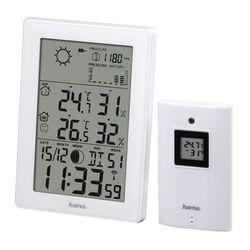 Погодная станция Hama EWS-3200 (белый) - Цифровая метеостанция