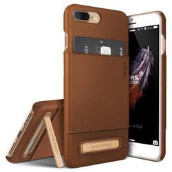 Чехол-накладка для Apple iPhone 7 Plus, 8 Plus (Verus Simpli Leather 904738) (коричневый) - Чехол для телефонаЧехлы для мобильных телефонов<br>Тонкий, функциональный и удобный чехол.