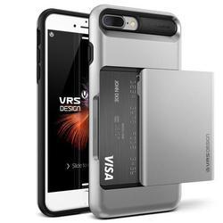 Чехол-накладка для Apple iPhone 7 Plus, 8 Plus (Verus Damda Glide 904642) (серебристый) - Чехол для телефонаЧехлы для мобильных телефонов<br>Удобный и компактный чехол, обладает двухслойной конструкцией для лучшей защиты.