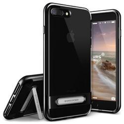 Чехол-накладка для Apple iPhone 7 Plus, 8 Plus (Verus Crystal Bumper 904761) (черный) - Чехол для телефонаЧехлы для мобильных телефонов<br>Удобный и компактный чехол, обладает двухслойной конструкцией для лучшей защиты.