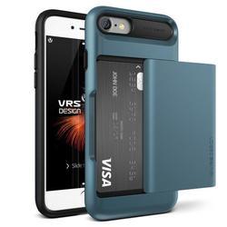 Чехол-накладка для Apple iPhone 7, 8 (Verus Damda Glide 904611) (голубой) - Чехол для телефонаЧехлы для мобильных телефонов<br>Удобный и компактный чехол, обладает двухслойной конструкцией для лучшей защиты.
