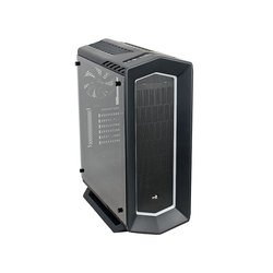 Aerocool P7-C1 BG Window w/o PSU Black RTL - КорпусКорпуса<br>Корпус Midi-Tower, без блока питания, форм-фактор ATX, 2хUSB 2.0, 2xUSB 3.0, выход на наушники/микрофон. Максимальная длина видеокарты: 375 мм (400 мм без переднего вентилятора), 8 вариантов подсветки.