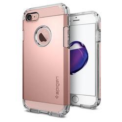 Чехол-накладка для Apple iPhone 7, 8 (Spigen Tough Armor 042CS20492) (розовое золото) - Чехол для телефонаЧехлы для мобильных телефонов<br>Защитит смартфон от грязи, пыли, брызг и других внешних воздействий.