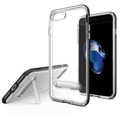 Чехол-накладка для Apple iPhone 7 Plus, 8 Plus (Spigen Crystal Hybrid 043CS20680) (черный) - Чехол для телефонаЧехлы для мобильных телефонов<br>Удобный и компактный чехол, обеспечит защиту от негативных внешних воздействий.