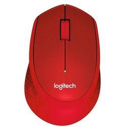 Logitech Wireless Mouse M330 Silent Plus Red USB - Мышь, клавиатура для компьютера и планшетаКлавиатуры, мыши, комплекты<br>Беспроводная мышь, интерфейс передатчика USB, 3 кнопки, разрешение сенсора 1000 dpi.