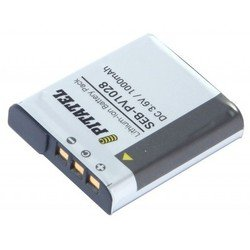 Аккумулятор для Sony Cyber-shot DSC-W125, DSC-W275, DSC-H5, DSC-W85, DSC-WT300, DSC-WX10B (Pitatel SEB-PV1028) - Аккумулятор для фотоаппаратаАккумуляторы для фотоаппаратов<br>Аккумулятор рассчитан на продолжительную работу и легко восстанавливает работоспособность после глубокого разряда. Емкость - 1000 мАч.