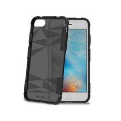 Чехол-накладка для Apple iPhone 7, 8 (Celly Prysma PRYSMA800BK) (черный) - Чехол для телефонаЧехлы для мобильных телефонов<br>Чехол плотно облегает корпус и гарантирует надежную защиту от царапин и потертостей.
