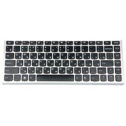 Клавиатура для ноутбука Lenovo IdeaPad U410 (KB-756R) (серебристо-черный) - Клавиатура для ноутбукаКлавиатуры для ноутбуков<br>Клавиатура легко устанавливается и идеально подойдет для Вашего ноутбука.