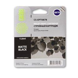 Картридж для Epson Stylus Photo R1900 Cactus CS-EPT0878 (матовый черный) - Картридж для принтера, МФУ