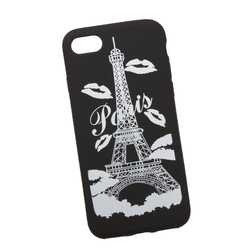 Чехол-накладка для Apple iPhone 7, 8 (0L-00029743) (Париж) - Чехол для телефонаЧехлы для мобильных телефонов<br>Силиконовый чехол-накладка для Apple iPhone 7 поможет защитить Ваш мобильный телефон от царапин, потертостей и других нежелательных повреждений.