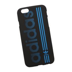 Силиконовый чехол-накладка для Apple iPhone 6, 6S (0L-00029734) (Adidas, сине-черный) - Чехол для телефонаЧехлы для мобильных телефонов<br>Силиконовый чехол-накладка для Apple iPhone 6, 6S поможет защитить Ваш мобильный телефон от царапин, потертостей и других нежелательных повреждений.