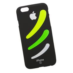Силиконовый чехол-накладка для Apple iPhone 6, 6S (0L-00029716) (три полоски) - Чехол для телефонаЧехлы для мобильных телефонов<br>Силиконовый чехол-накладка для Apple iPhone 6, 6S поможет защитить Ваш мобильный телефон от царапин, потертостей и других нежелательных повреждений.