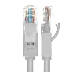 Патч-корд UTP кат. 5e, RJ45 10м (GCR-LNC031-10.0m) (серый) - КабельСетевые аксессуары<br>Высокотехнологичный современный патч-корд для подключения к интернету на высокой скорости.
