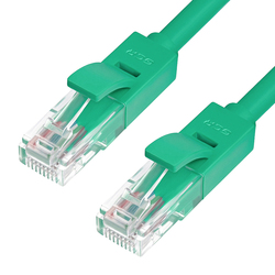 Патч-корд RJ-45 кат. 6 UTP 0.5м литой (Greenconnect GCR-LNC605-0.5m) (зеленый)