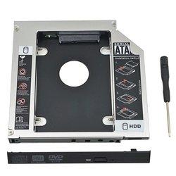 ORIENT UHD-2SC12 - АксессуарДополнительные аксессуары для ноутбуков<br>Шасси для 2.5quot; SATA HDD для установки в SATA отсек (12.7 мм) оптического привода ноутбука.