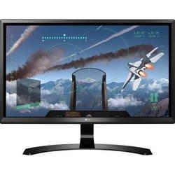 LG 24UD58-B (черный) - МониторМониторы<br>Монитор LG 24UD58-B, тип матрицы IPS, диагональ 23.8quot;, соотношение сторон 16:9, светодиодная подсветка ЖК-панели, поверхность экрана матовая, яркость экрана 250 кд/м2, углы обзора 178/178 градусов, разрешение 3840x2160, HDMI 2, DisplayPort, вес 3.62 кг.