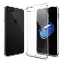 Чехол-накладка для Apple iPhone 7 Plus, 8 Plus (Spigen Liquid Crystal 043CS20479) (прозрачный) - Чехол для телефонаЧехлы для мобильных телефонов<br>Обеспечит защиту телефона от царапин, потертостей и других нежелательных внешних воздействий.