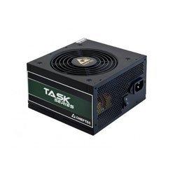 Chieftec Task TPS-400S 400W OEM - Блок питанияБлоки питания<br>Блок питания 400 Вт, 1х120 вентилятор, 80 Plus Bronze, активный PFC.