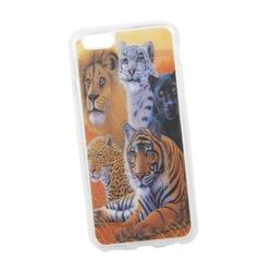 Чехол-накладка для Apple iPhone 6, 6s (Liberti Project 0L-00029364) (прозрачный)  - Чехол для телефонаЧехлы для мобильных телефонов<br>Чехол-накладка плотно облегает заднюю крышку телефона и надежно защищает его от пыли и царапин.