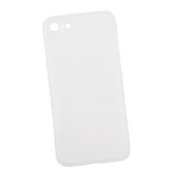 Чехол-накладка для Apple iPhone 7, 8 (Liberti Project 0L-00029233) (белый) - Чехол для телефонаЧехлы для мобильных телефонов<br>Чехол-накладка плотно облегает заднюю крышку телефона и гарантирует ее надежную защиту от пыли, царапин, потертостей и других вешних воздействий. Материал матовый пластик, толщина 0.4 мм.