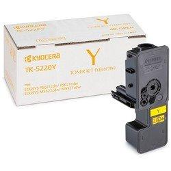 Картридж для Kyocera ECOSYS P5021cdn, P5021cdw, M5521cdn, M5521cdw (1T02R9ANL1 TK-5220Y) (желтый) - Картридж для принтера, МФУКартриджи<br>Картридж совместим с моделями: Kyocera ECOSYS P5021cdn, P5021cdw, M5521cdn, M5521cdw.