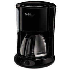 Tefal CM261838 (черный) - Кофеварка, кофемашинаКофеварки и кофемашины<br>Tefal CM261838 - кофеварка, объем резервуара - 1.25 л, мощность потребления - 1000 Вт, тип фильтра - бумажный, тип кофеварки - капельная, используемый кофе - молотый.