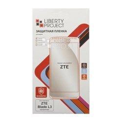 Защитная пленка для ZTE Blade L3 (Liberti Project 0L-00028787) (прозрачный) - ЗащитаЗащитные стекла и пленки для мобильных телефонов<br>Защитная плёнка изготовлена из высококачественного полимера и идеально подходит для данной модели смартфона.