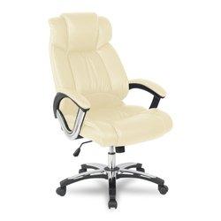 Кресло руководителя College H-8766L-1 (бежевый) - Стул офисный, компьютерный (COLLEGE) Ленино поиск б.у