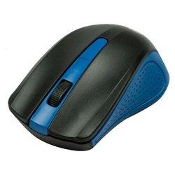 Ritmix RMW-555 Black-Blue USB - МышьМыши<br>Ritmix RMW-555 Black-Blue USB - мышь, беспроводная (радиоканал), 1000 dpi, USB, цвет: несколько цветов