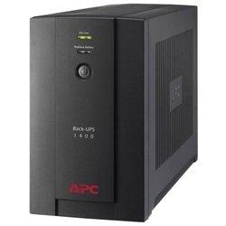 APC by Schneider Electric Back-UPS 1400VA, 230V, AVR, Schuko Sockets (BX1400U-GR) - Источник бесперебойного питания, ИБП
