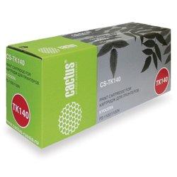 Картридж для Kyocera FS-1100, 1100N (Cactus CS-TK140) (черный) - Картридж для принтера, МФУ