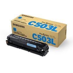 Картридж для Samsung ProXpress C3010ND, C3060FR (CLT-C503L/SEE) (голубой)   - Картридж для принтера, МФУКартриджи<br>Картридж совместим с Samsung ProXpress C3010ND, C3060FR.