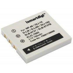 Аккумулятор для BenQ X600, FujiFilm FinePix F811 (iSmartdigi PVB-205) - Аккумулятор для фотоаппаратаАккумуляторы для фотоаппаратов<br>Аккумулятор рассчитан на продолжительную работу и легко восстанавливает работоспособность после глубокого разряда. Емкость - 750 мАч.