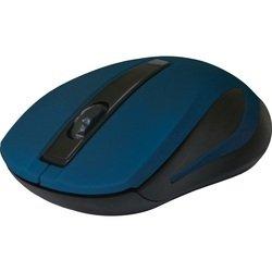 Defender MM-605 Blue USB - АксессуарКлавиатуры, мыши, комплекты<br>Беспроводная оптическая мышь, интерфейс приемника USB, количество кнопок: 2 + колесо-кнопка, разрешение1200 dpi.