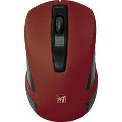 Defender MM-605 Red USB - Мышь, клавиатура для компьютера и планшетаКлавиатуры, мыши, комплекты<br>Беспроводная оптическая мышь, интерфейс приемника USB, количество кнопок: 2 + колесо-кнопка, разрешение1200 dpi.